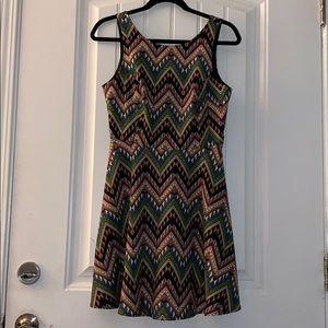 Lush pattern dress size medium